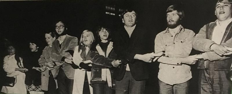 Geneseo Students Protesting 1968