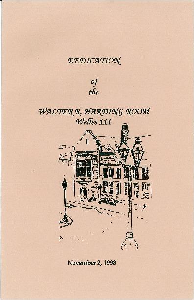Dedication of the Walter R. Harding Room.pdf