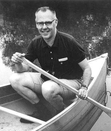 Walter Harding Canoe