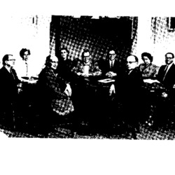 Harding with His Fellow English Professors