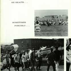 Page of Yearbook Geneseo 1968