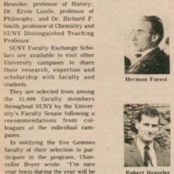SUNY Exchange Scholars