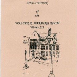 Dedication of the Walter R. Harding Room.pdf