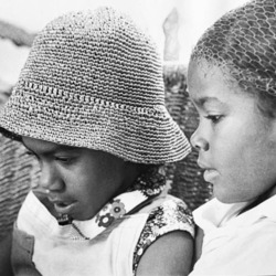 Jessica and Cira Kelley in Jamaica in 1974