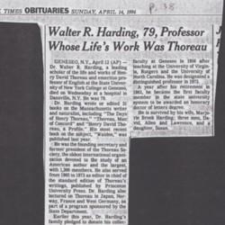 New York Times Obituary