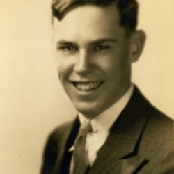 Walter Harding in High School
