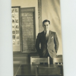 Walter Harding at College
